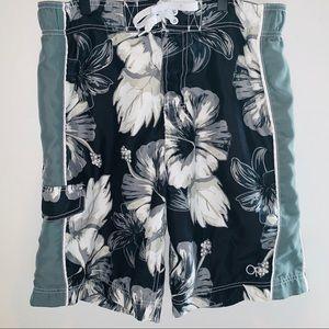 OP Multicolored Men's Floral Boardshorts Sz.M